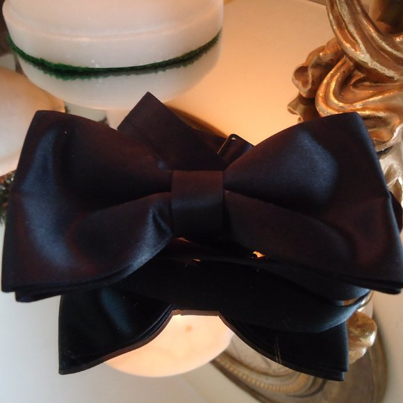 Marshall Stuart Other - Men's black bow tie by M/S silk